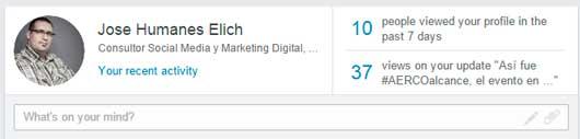 Cambios en el diseño de nuestro perfil en LinkedIn