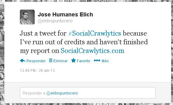 Monitorizar a la competencia en Social Media con Socialcrawlytics