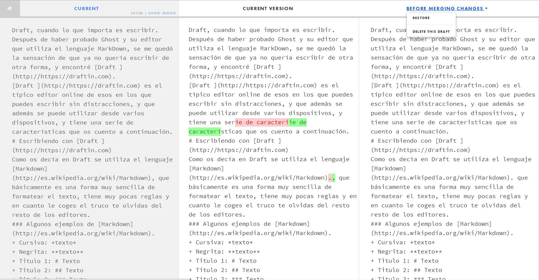 editor de texto markdown