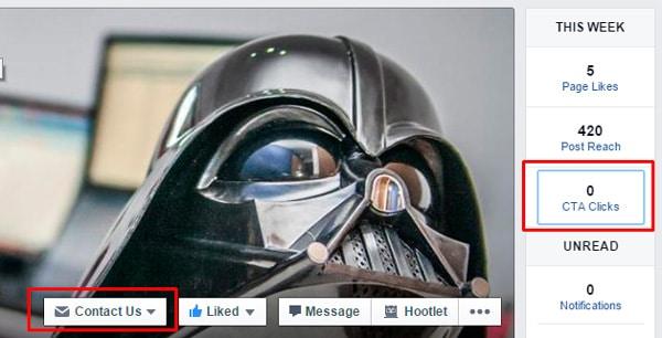 Botón con Llamada a la Acción en páginas de Facebook